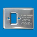Mercury Transom Mount Trim Switch Cover Plate