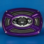 BILLET ALUMINUM 6 X 9 SPEAKER GRILL WHEEL STYLE