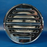 "BILLET ALUMINUM 10"" SUBWOOFER GRILL CLASSIC STYLE"