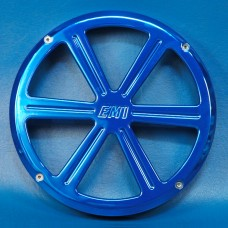 "BILLET ALUMINUM 10"" SUBWOOFER GRILL WHEEL STYLE"